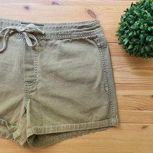 Abercrombie and Fitch Outdoor Goods Khaki Shorts